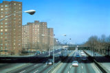 New York, Manhattan, East River Drive and Baruch Houses