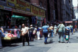 New York, Manhattan, sidewalk sales on 14th Street