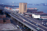 New York, Manhattan, view of West Side Highway at 42nd Street