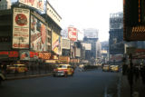 New York, Manhattan, view of advertisements in Times Square