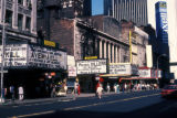 New York, Manhattan, theaters along West 42nd Street