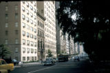 New York, Manhattan, uptown residential street