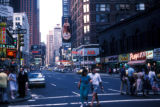 New York, Manhattan, Midtown street scene