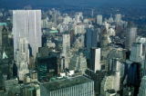 New York, Manhattan, city overview from Rockefeller Center's RCA(GE) building