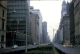 New York, Manhattan, view of Park Avenue north from 58th Street