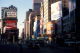 New York, Manhattan, view of Times Square