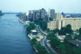 New York, Manhattan, view of Roosevelt Island waterfront
