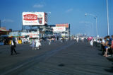 New York, Brooklyn, Coney Island boardwalk