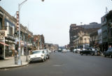 New York, Brooklyn, view of shops along King's Highway