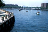 New York, Brooklyn, view of Sheepshead Bay harbor