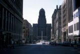 Buffalo, view of City Hall and McKinley monument