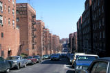 New York, Queens, apartment buildings along Rego Park