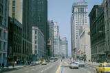 Chicago, looking down Michigan Avenue toward Wrigley Building