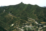 Great Wall of China, panoramic view