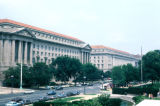 Washington, view of government buildings in Federal Triangle