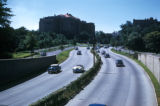 New York, Bronx, view of Henry Hudson Parkway near Riverdale