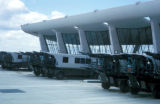 Washington, suburban area, Dulles International Airport mobile lounges