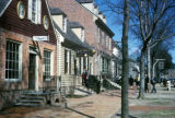 Williamsburg, restored Duke of Gloucester Street