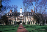 Williamsburg, historic Wren Building at College of William and Mary