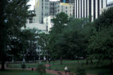 Richmond, view of Capitol Square Park