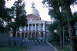 Boston, view of Massachusetts State House