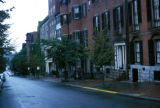 Boston, Beacon Hill residential street