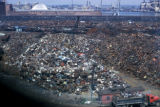 Boston, view of scrap yard