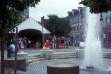 Philadelphia, fountain in Headhouse Square