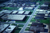 Chicago, suburban Elk Grove Village, aerial view of industrial district