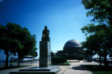 Chicago, Bertel Thorvaldson's monument of Copernicus at the Adler Planetarium