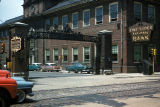 Chicago, entrance to Union Stock Yards from Halsted Street