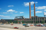 Chicago, suburban Waukegan, Johns-Manville Plant