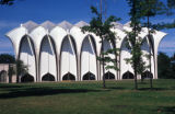Chicago, suburban Glencoe, Minoru Yamasaki's North Shore Congregation Israel Temple