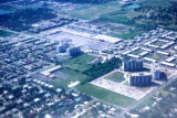 Chicago, suburban Deerfield, air view of suburban area