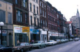 Chicago, street scene on Milwaukee Avenue