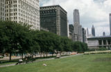 Chicago, buildings across Michigan Avenue from Grant Park