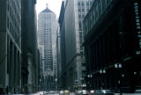 Chicago, view of Chicago Board of Trade Building looking south on LaSalle Street