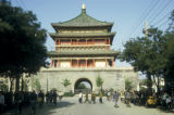 Xian, main gate of city wall