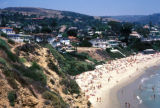 Laguna Beach, cityscape view of cliffs and beach