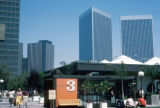 Los Angeles, street scene in Century City