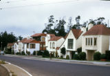 San Francisco, residential street near Sloat Boulevard