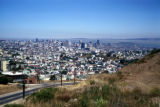 San Francisco, view of city from Diamond Heights