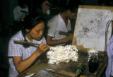 Guangzhou, workers carving ivory