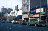 "San Diego, nightclub and theaters on ""Skid Row"""