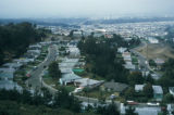 Daly City, view of residential housing development
