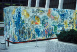 "Chicago, Chagall's ""Four Seasons"" mosaic at Bank One Plaza, formerly known as First..."
