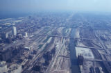 Chicago, railroad area from Sears Tower