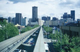 Seattle, monorail on Fifth Avenue