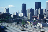 Seattle, Interstate 5 and downtown skyline