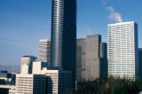 Seattle, close-up of Columbia Center (Bank of America Tower)  and surrounding buildings